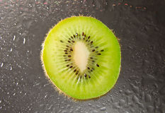 Kiwi on ice Stock Photo