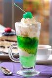 Kiwi Ice Cream Royalty Free Stock Image