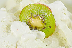 Kiwi icecream background Royalty Free Stock Image