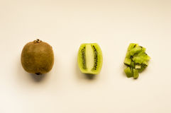 Kiwi. Ideal for wallpapers. Could be useful in presentations, web and printing design Stock Photos