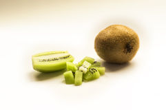 Kiwi. Ideal for wallpapers. Could be useful in presentations, web and printing design Royalty Free Stock Photo