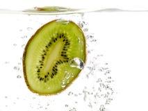 Kiwi im Wasser Lizenzfreies Stockfoto