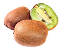 Kiwi, isolated Royalty Free Stock Image