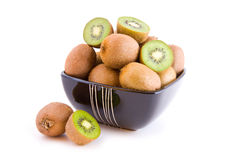 Kiwi isolated Stock Photography