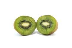 Kiwi isolated over white. Close-up of kiwi isolated over white Royalty Free Stock Image