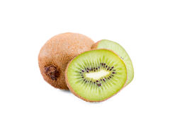 Kiwi. Isolated sliced kiwis on white background with a nice and soft shadows.nPhoto made in subject studio stock photography