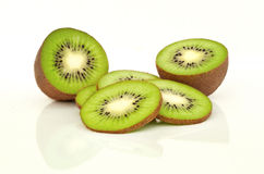 Kiwi isolated on white Royalty Free Stock Image