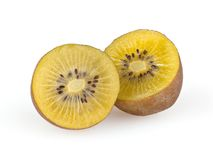 Kiwi isolated on white. Background with clipping path Stock Photo