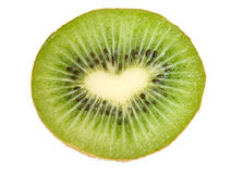 Kiwi isolated on white background with clipping pa royalty free stock photography