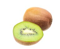 Kiwi isolated on white background Royalty Free Stock Photos