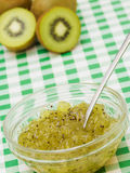 Kiwi Jam in Bowl Royalty Free Stock Photo