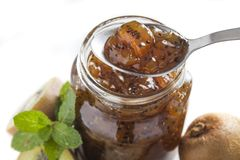 Kiwi jam Stock Photography