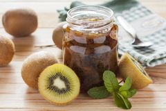 Kiwi jam Stock Photo