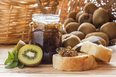 Kiwi jam Stock Photos