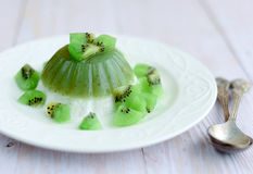 Kiwi Jelly Stock Photography