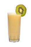 Kiwi juice. Fresh kiwi juice on isolated background Stock Photography
