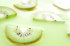 Kiwi juice Royalty Free Stock Images