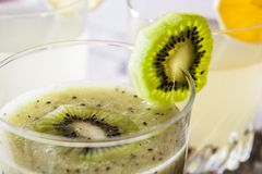 Kiwi juice Royalty Free Stock Photo