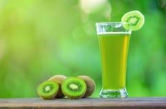 Kiwi Juice Imagen de archivo libre de regalías
