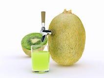 Kiwi juice Stock Photos