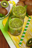 Kiwi Juice Drink Stock Photo