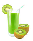 Kiwi juice Stock Image