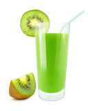 Kiwi juice Stock Photography