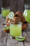 Kiwi juice Royalty Free Stock Photography