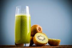 Kiwi juice Stock Photography