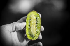 Kiwi!. That Juicy kiwi stands out Stock Images