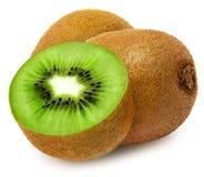Kiwi juteux avec la section photos stock
