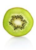 Kiwi juteux de segment images libres de droits