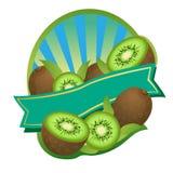 Kiwi Label libre illustration