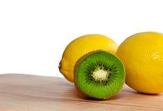 Kiwi And Lemons Royalty Free Stock Photo