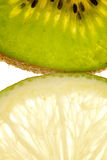 Kiwi and lime Royalty Free Stock Images