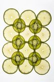 Kiwi and lime. Stock Photo