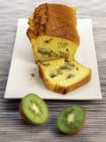 Kiwi loaf cake Royalty Free Stock Photo