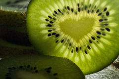 Kiwi Love Royaltyfri Bild