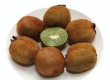 Kiwi-lush, subtropical  fruit healthy diet Stock Images