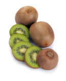 Kiwi mûr et segment Photographie stock