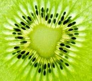 Kiwi macro background Stock Image