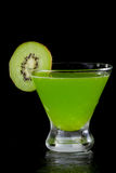 Kiwi martini Stock Photos