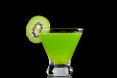 Kiwi martini Stock Images
