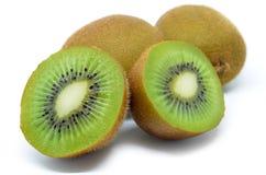 Kiwi, metà del kiwi Fotografie Stock Libere da Diritti