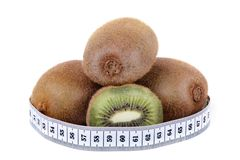 Kiwi and meter Royalty Free Stock Photography