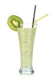 Kiwi milk smoothie Stock Photo