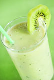 Kiwi milk smoothie Stock Photo