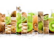Kiwi Mix Stripes Royalty Free Stock Images