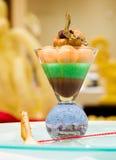 kiwi mus czekoladowy Zdjęcie Royalty Free