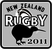 Kiwi new zealand rugby 2011 Royalty Free Stock Photo